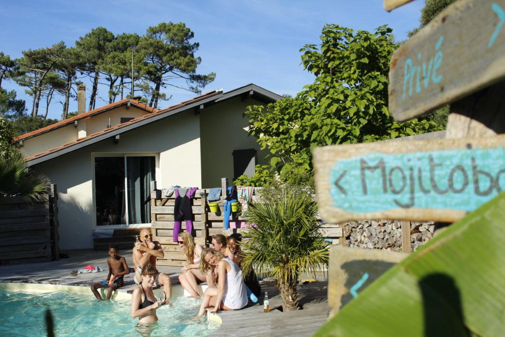 Board 'n Breakfast summer in Labenne